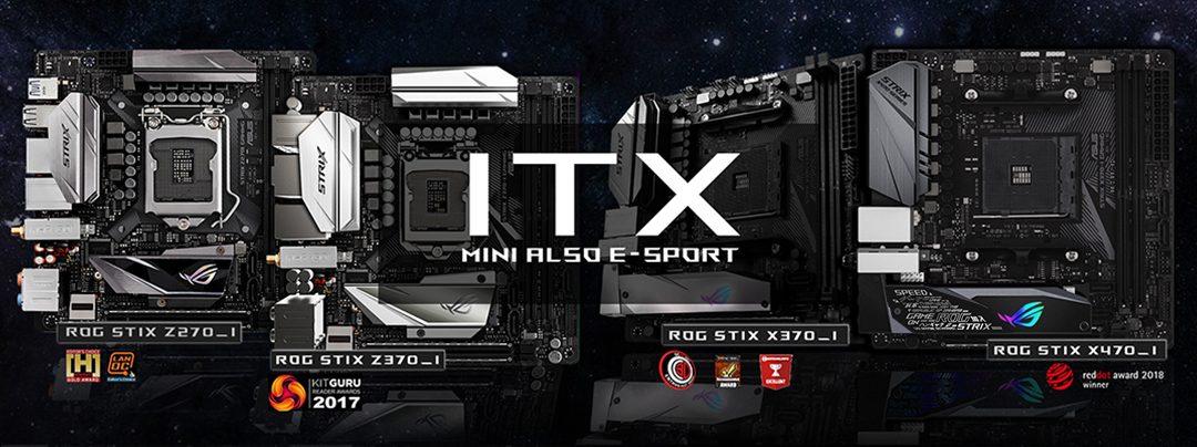 ROG STRIX_ ITX : 誰說迷你不能又電競