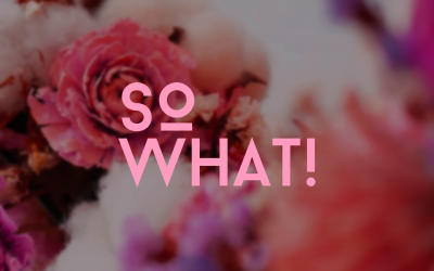簡單選擇,大方送花 – SoWHAT!花樣子