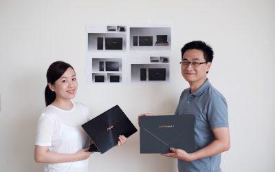 2018 ASUS ZenBook 包裝設計