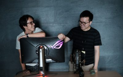 ROG SWIFT PG27UQ: 地表最強電競螢幕的設計故事
