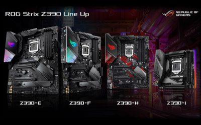 ROG STRIX Z390 : 潮流電競主機板