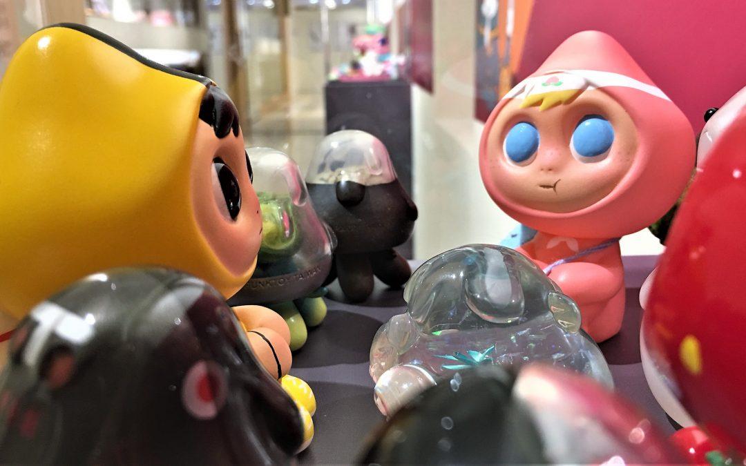 有怪獸! 有怪獸! – 《年獸來襲-怪獸玩具展》+ 《天啊!怪獸大進擊|TAIWAN FUN TOY'S》
