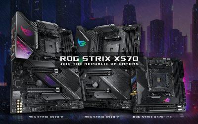 ROG STRIX X570 用剽悍效能和時尚潮流 挑戰DIY電競