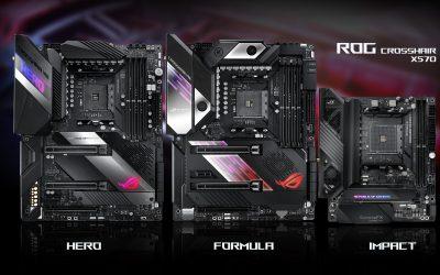 打造AMD X570黑精品主機板 – ROG CROSSHAIR SERIES