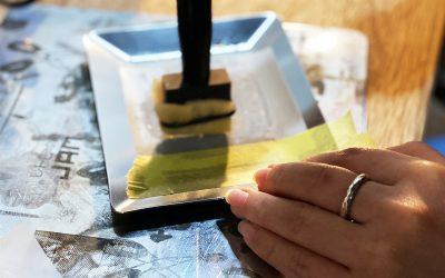 為冰冷的金屬增添溫度—金屬電解印刷