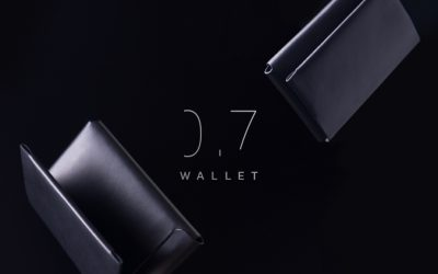 0.7 Wallet 雙面感應卡夾
