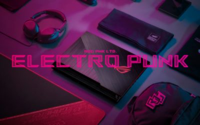 Electro Punk: ROG's New Neon Pink