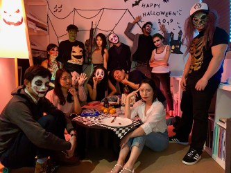 Throwback: Singapore ASUS Design Centre Halloween Party 2019