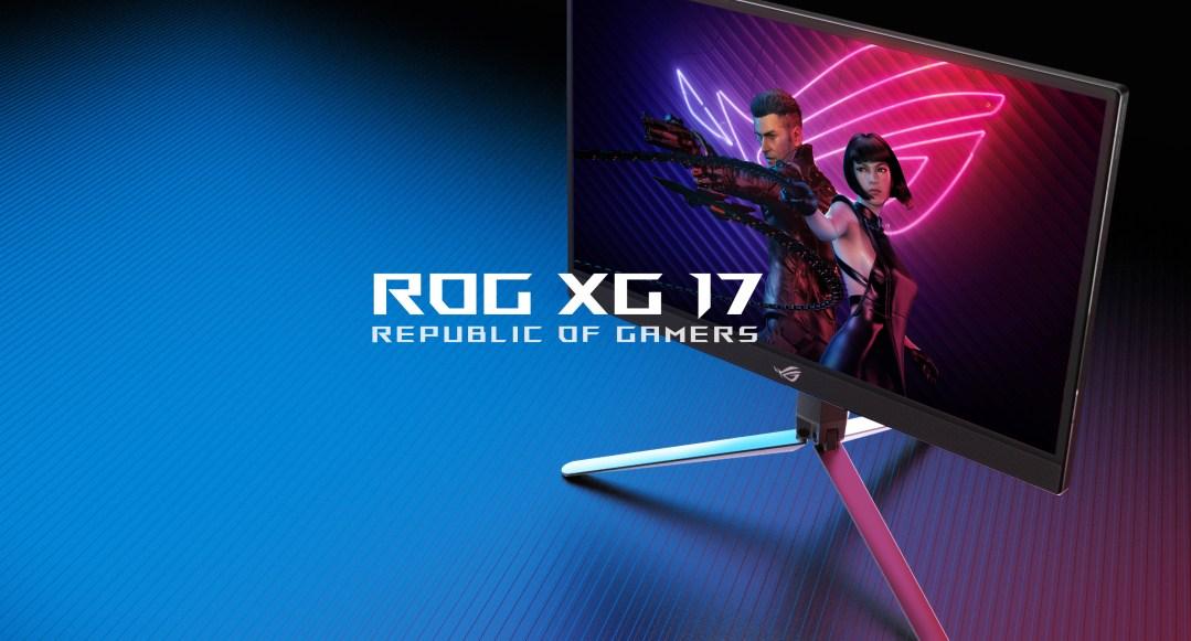 ROG XG17 – 攜帶型電競螢幕帥到帶著走