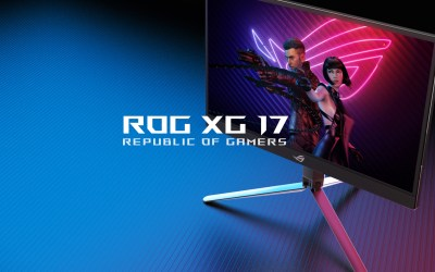 ROG XG17 – The Sleek Portable Gaming Screen