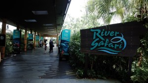 Entrance to River Safari Singapore
