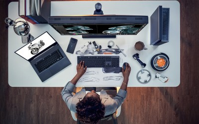行動創作者強大分身:ProArt StudioBook Pro X