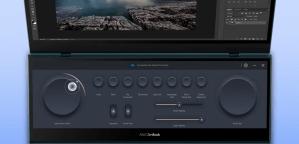 Asus Control Panel on ScreenPad Plus