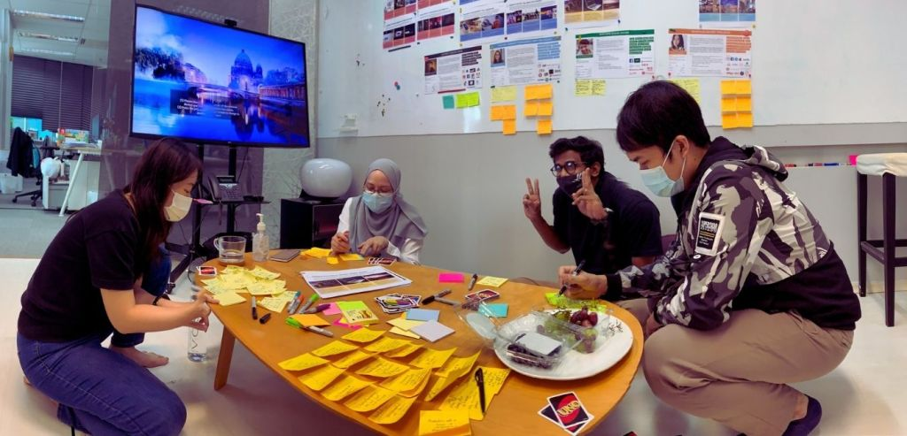 Singapore Asus Design Center team members during an innovation workshop